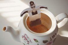 Holly Golightly tea bag
