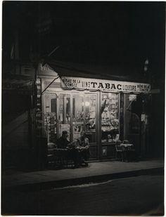 Brassaï  Paris de Nuit, Tabac, 1935