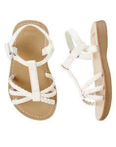 Braided Sandals at Gymboree