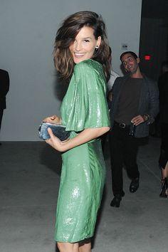 Hanneli in Calvin Klein Collection   - HarpersBAZAAR.com