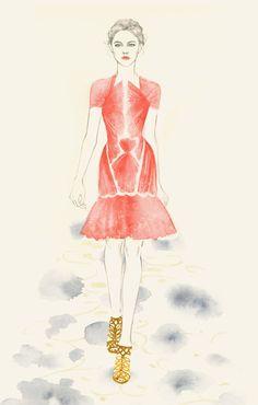 Teri Chung fashion illustration