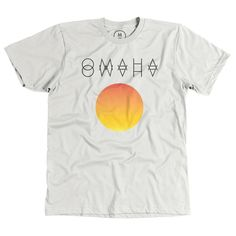"""""""Glyph Omaha Sunset"""" designed by Jonathan Starkey. Glyph Omaha Sunset may be another tribute to native Omaha roots with a future primitive style."""