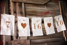 cute date banner