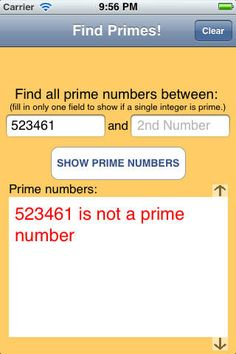 Prime numbers can be tricky for students and there is a simple, free app that can help them check their work.