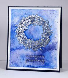 Silver wreath | bits & pieces - Heather Telford | Bloglovin'