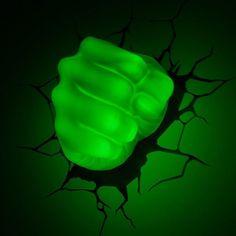 Hulk Smash Night Light The Avengers 3D Wall Art Home Lighting Lamp Kids Bedroom  #marvel