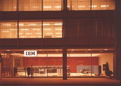 IBM Datacenter, Toronto, 1963