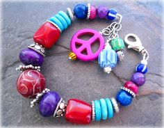 NEW Chunky Ethnic Sterling Silver Beaded by sunrisetreasures, $59.00