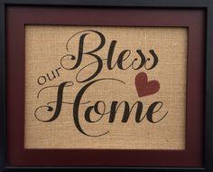 #Bless our #Home  #homedecor #etsy #christian #gcrdesigns