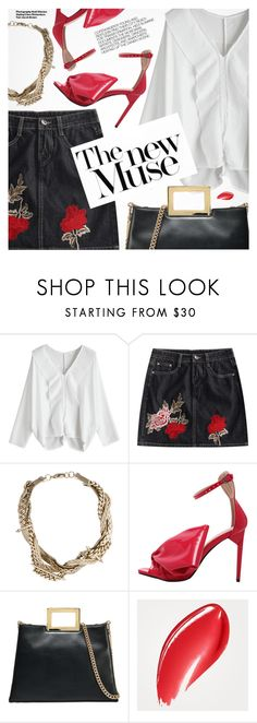 """""""Chic In The City"""" by pokadoll ❤ liked on Polyvore featuring Fenton, MICHAEL Michael Kors, Hedi Slimane and Burberry"""