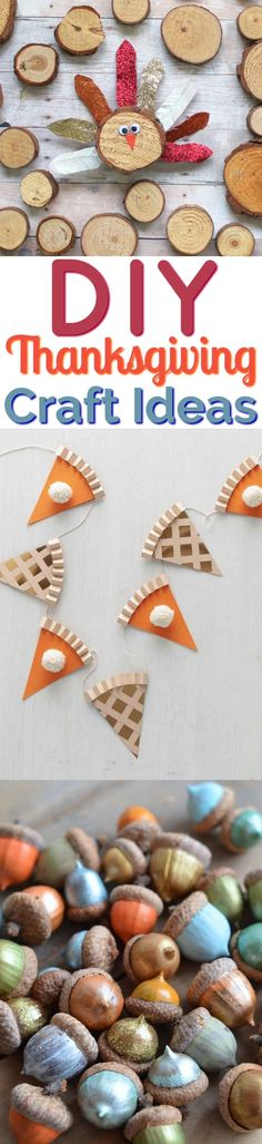 Today we're going to show you a ton of DIY Thanksgiving Craft Ideas perfect for kids and teens alike who need to stay entertained and have fun doin… - Geburtstag Easy Fall Crafts, Thanksgiving Crafts For Kids, Fall Diy, Diy Crafts To Sell, Crafts For Seniors, Diy Crafts For Kids, Kids Diy, Craft Projects, Craft Ideas