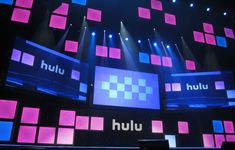 Hulu Upfront 2014 - ATOMIC helped design and set the stage for an entertaining and stunning environment.