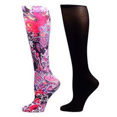 Celeste Stein Therapeutic Compression Sock 15-20 mmHg Q, 2 pk - 1 ea