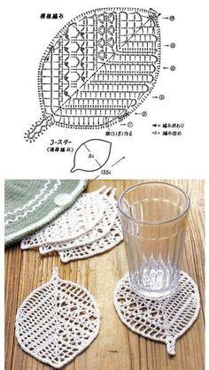 Crochet Booties - Crochet: Guantes sin dedos o Mitones # 3 Crochet: Guantes sin dedos o Mitones # 3 Crochet Leaf Patterns, Crochet Leaves, Crochet Motifs, Crochet Art, Doily Patterns, Crochet Home, Thread Crochet, Irish Crochet, Crochet Designs