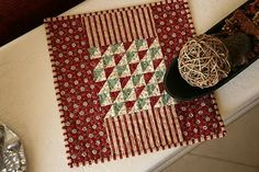 pleasentree Miniature Quilt