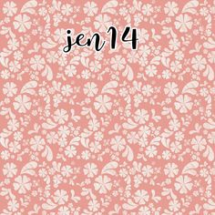 """Beautiful and original printed vinyl in our """"Jenna"""" Theme."""