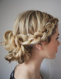 Day To Night Braid - Ways to Pull Off the Perfect Messy Pinterest Updo - Photos
