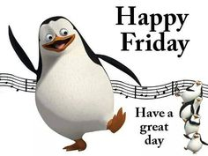 Happy Friday Penguin!