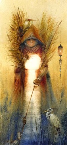 """""""Best of all is it to preserve everything in a pure, still heart, and let there be for every pulse a thanksgiving, and for every breath a song."""" -Konrad von Gesner  Image credit: """"March Angel' By Igor Oleynikov"""