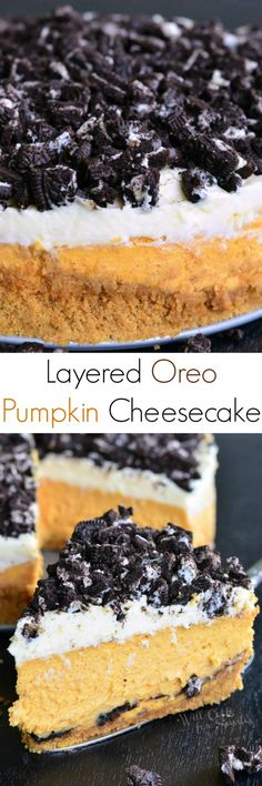 Layered Oreo Pumpkin