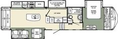 Forest River Campers Bunkhouse King Bed And 2 Bath 5th