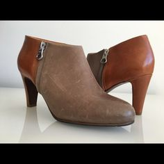"""SEE BY CHLOE ROUND TOE BOOTIE, SIZE 36 SEE BY CHLOE ROUND TOE BOOTIE, SIZE 36, LEATHER HEELS AND ZIP CLOSURE AT SIDES, HEIGHT HEEL 3"""", BRAND NEW WITHOUT BOX See by Chloe Shoes Ankle Boots & Booties"""