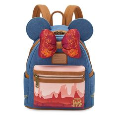 Minnie Mouse: The Main Attraction Mini Backpack by Loungefly – Big Thunder Mountain Railroad – Limited Release | shopDisney