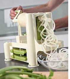 Lurch Spirali 10203 Vegetable Spiralizer Green/Cream