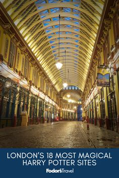 London's 18 Most Magical Harry Potter Sites From the iconic Platform 9 ¾ to the lesser-known pedestrian streets, here are the top sites in Hogwarts, Eurotrip, London Eye, The Places Youll Go, Places To See, Big Ben, Rue Pietonne, Travel Icon, Voyage Europe