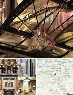 O luxuoso hotel fica junto à histórica estação central de comboios na Piazza Duca D'Aosta e apenas a 2 estações de metro da Catedral e do teatro alla  Scala de Milão. Até aos transportes públicos são 500 metros.