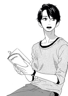 Shishio Satsuki from the manga Hirunaka no Ryuusei Manga Anime, Boys Anime, Hot Anime Guys, Anime Art, Daytime Shooting Star, Shooting Stars, Manga Love, I Love Anime, Manga Drawing