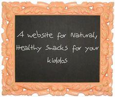 healthy kiddo snacks