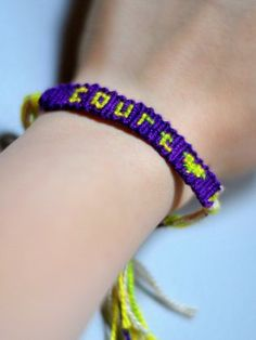 How To Make Friendship Bracelets With Names Step By Step