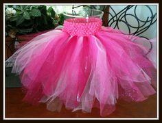 Childs Tutu Skirt: Shimmery Pink (Newborn, baby, toddler). $20.00, via Etsy.