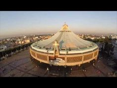 Basílica de Guadalupe desde el aire (12 de diciembre de 2014) - YouTube