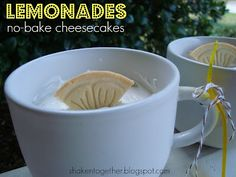 Girl Scout cookies lemon no bake cheesecake...yum