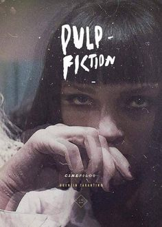 A classic: Pulp Fiction Quentin Tarantino at his best. Best Movie Posters, Cinema Posters, Movie Poster Art, Cool Posters, Pulp Fiction, Tarantino Films, Quentin Tarantino, Love Movie, I Movie