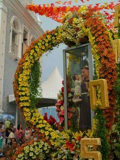 Saint Anthony Of Padua, Fractal, Floral Wreath, Wreaths, Fall, San Antonio, Home Decor, Autumn, Flower Crowns