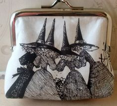 Any excuse to get a new handbag, right? Hooray for Halloween! Images courtesy of La Lune Designs, Seventh Sphere.