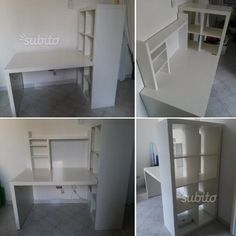 scrivania-libreria-e-scaffale-extra
