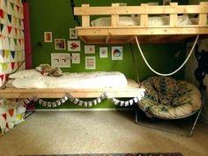 Etagenbett Gitter : Kinderzimmer für zwei kinder mit kompakten etagenbetten einrichten