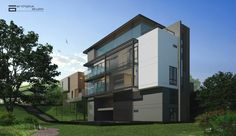 Residence on 64th street mandalay myanmar portfolio of for Modern house yangon