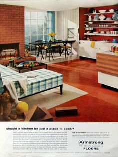 Armstrong Floor ad 1956 (from #RetroReveries)
