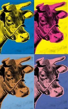 "Andy Warhol ""Cow"""