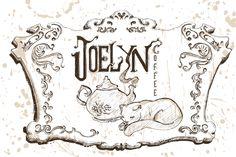 Book: Witches Lazos de Magia. Joely. Coffe shop. Cat. Teapot