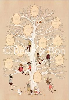 Family Tree / Belle & Boo