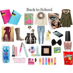 My Back to School Backpack Essentials & Outfit