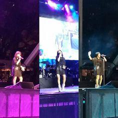 •Becky G• (@iambeckyg) performing  #WorldAidsDay Concierto  en Miami,   #BeckyG  #Beasters