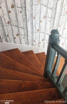 Rénovation en couleurs d'une maison familiale à Saint-Ouen, Espaces à Rêver…