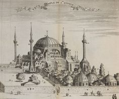 Hagia Sophia Mosque, Istanbul, 1681 (Ayasofya Camii)